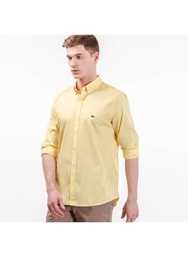 Lacoste Uzun Kollu Gömlek Sarı